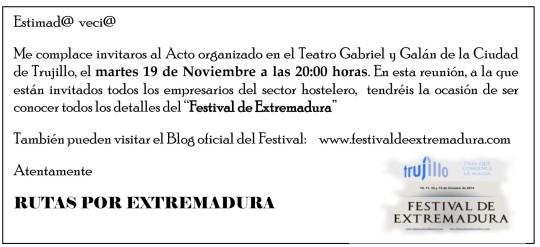 INVITACIONES PUBLICO EN GENERAL
